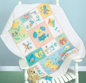 Basic Baby Patchwork Quilts: How to Sew Simple Crib-Size Blankets
