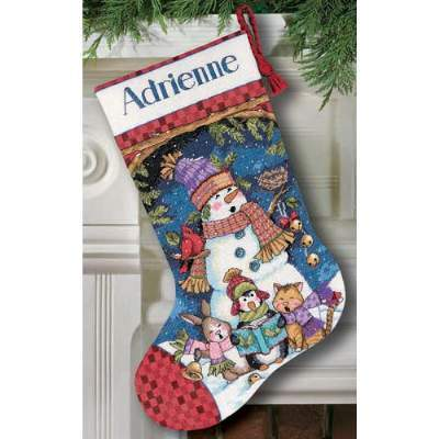 Gothic Christmas Stocking