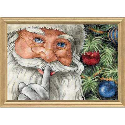 Santas Secret By Dimensions Cross Stitch Kits Amp Patterns