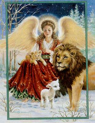 Angel Lion and Lamb - Heaven_and_Earth_Designs Pattern