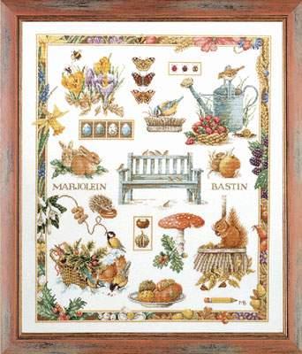 Four Seasons I By Lanarte Cross Stitch Kits Amp Patterns