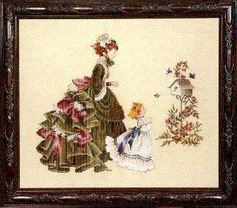 Little Wings By Lavender And Lace Cross Stitch Kits