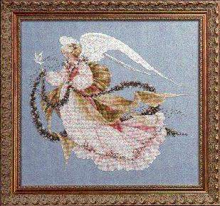 Angel Of Summer By Lavender And Lace Cross Stitch Kits