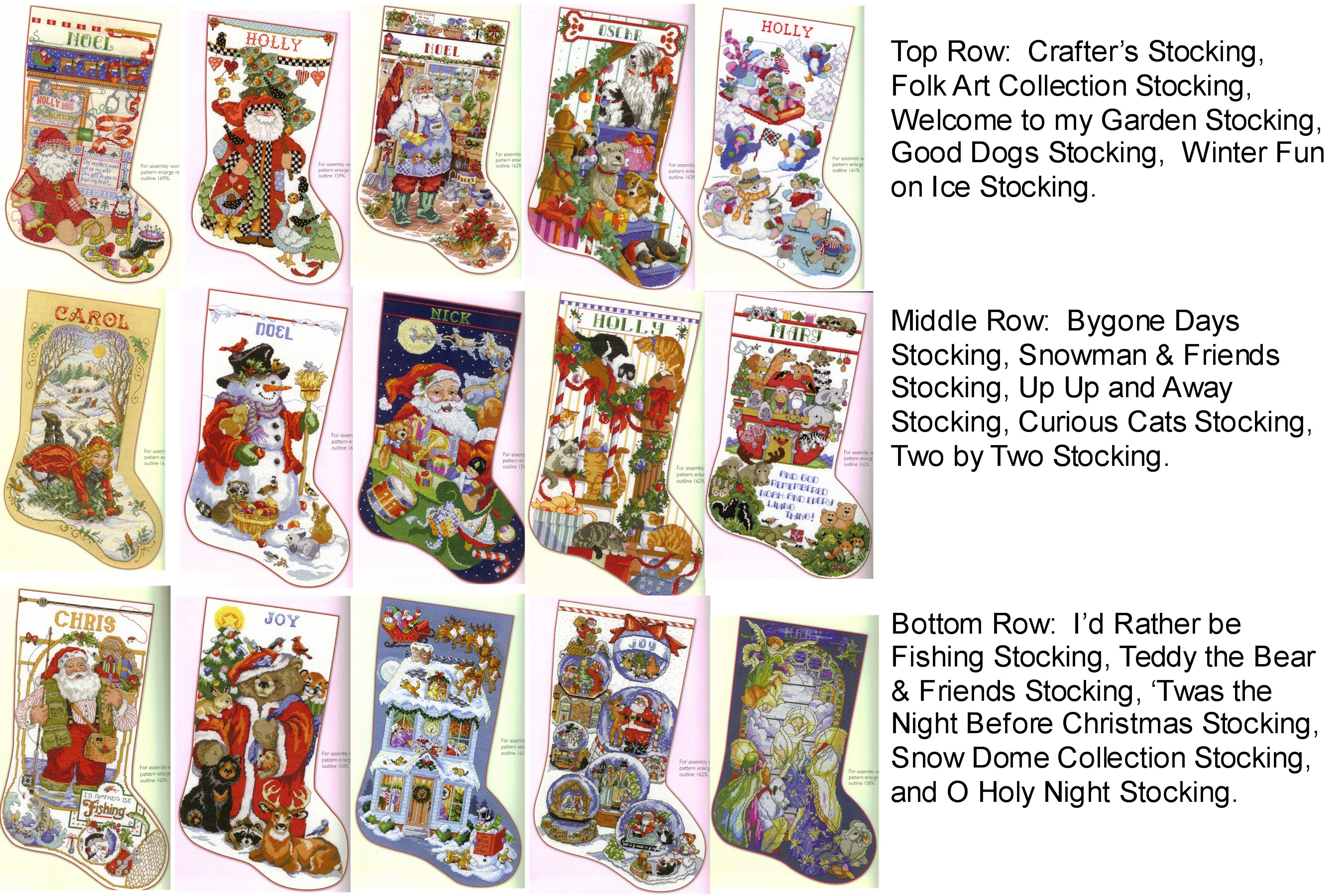 Donna Kooler Ultimate Stocking Collection by Leisure Arts - Cross ...
