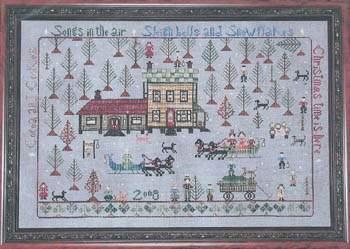 Kringles Christmas Tree Farm By Praiseworthy Stitches
