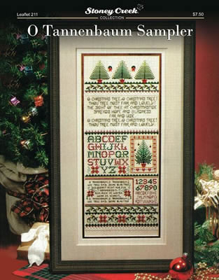 O Tannenbaum Sampler By Stoney Creek Cross Stitch Kits