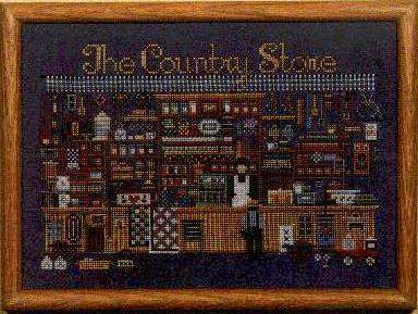 Country Store By Told In A Garden Cross Stitch Kits