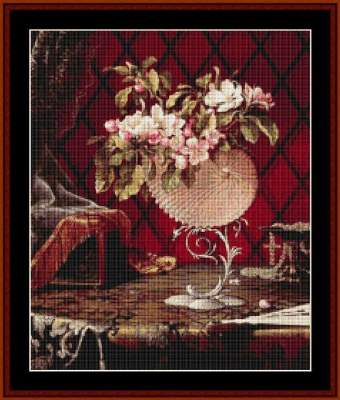 Still Life with Apple Blossoms - Cross_Stitch_Collectibles Pattern