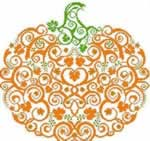 Zucca Pumpkin - Cross Stitch Pattern