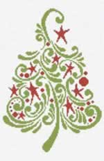 2013 Limited Edition Christmas Tree - Cross Stitch Pattern