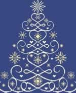 Christmas Tree 12 - Cross Stitch Pattern