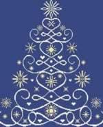 Christmas Tree 12 - Cross Stitch Pattern