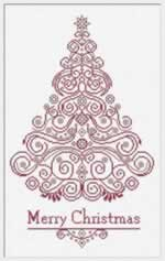 Christmas Tree 130 - Cross Stitch Pattern
