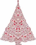 Christmas Tree 55 - Cross Stitch Pattern