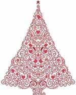 Christmas Tree 55 - Cross Stitch Pattern