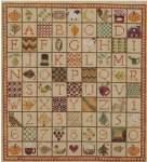 Indian Summer Sampler - Cross Stitch Pattern