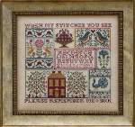 A Sampling in the Square - Cross Stitch