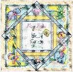 Craftdrawer Crafts: Free Birth Sampler Cross Stitch Pattern