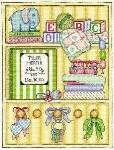 Precious Baby Birth Sampler - Cross Stitch