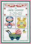 Baby Girl - Cross Stitch Pattern