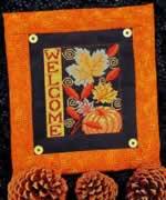 Autumn Welcome - Cross Stitch Pattern