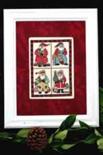 Scrapbook Santa - Cross Stitch Pattern