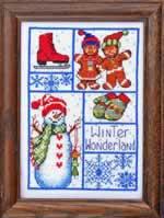 Winter Wonderland - Cross Stitch Pattern