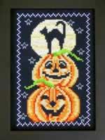 Midnight Pumpkins - Cross Stitch Pattern