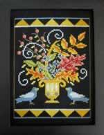 A Fall Vase - Cross Stitch Pattern