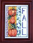 Fall Pumpkins - Cross Stitch Pattern