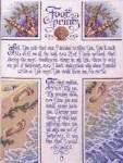 Footprints - Cross Stitch Pattern
