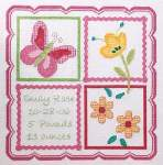 Sophie Baby Sampler - Cross Stitch Pattern