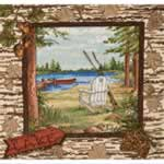 Lakeside Collage - Cross Stitch Pattern