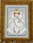 Angel Girl - Cross Stitch