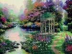 The Garden of Prayer - Cross Stitch Pattern
