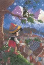Pinocchio - Cross Stitch Pattern