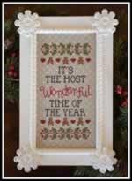 Wonderful Time of the Year - Cross Stitch Pattern
