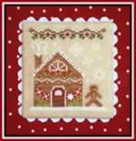 Gingerbread House 2 - Cross Stitch Pattern
