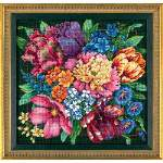 Floral Splendor - Cross Stitch Pattern