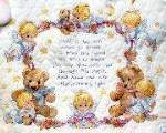 Nighttime Prayer Quilt - Cross Stitch