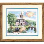 Country Church - Cross Stitch Pattern