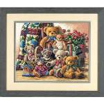 Teddy Bear Gathering - Cross Stitch Pattern