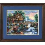 Twilight Bridge - Cross Stitch Pattern