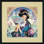 Enchanting Geisha - Cross Stitch Pattern