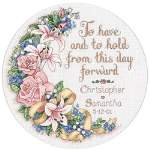 To Have and To Hold Wedding Record - Cross Stitch