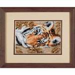 Beguiling Tiger - Cross Stitch Pattern