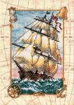 Voyage at Sea - Cross Stitch Pattern
