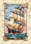 Voyage at Sea - Cross Stitch Pattern