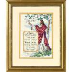 In His Arms - Cross Stitch Pattern
