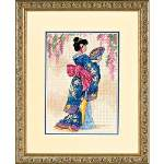 Elegant Geisha - Cross Stitch Pattern